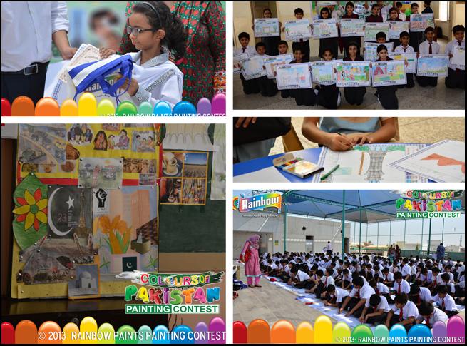 Rainbow Paints- Colours Of Pakistan: Painting Contest