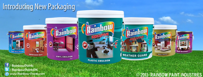 Rainbow New Product Packaging For 2013