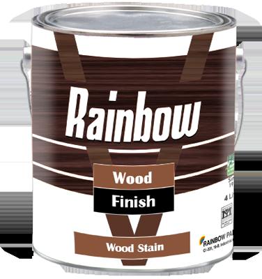 Rainbow Wood Stain