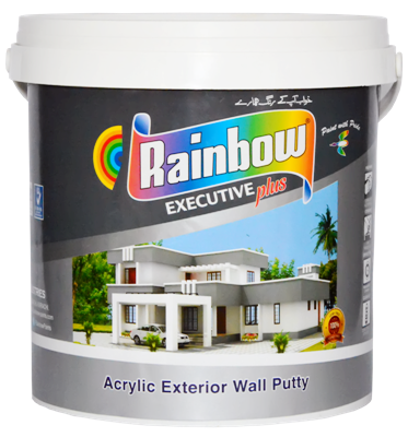 Rainbow Acrylic Exterior Wall Putty 5KG _REV101